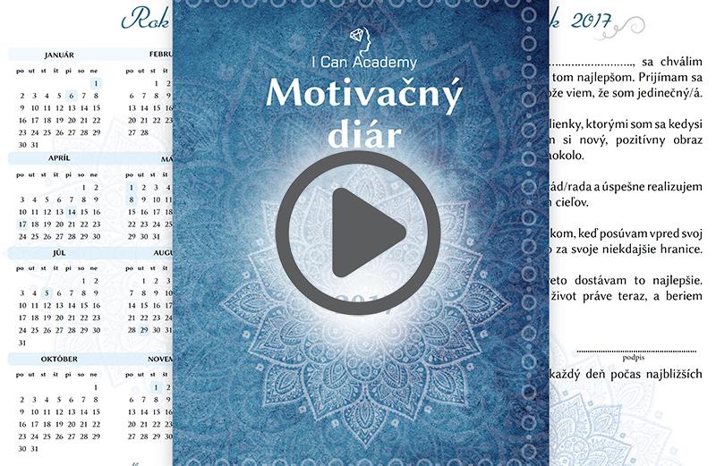 Video návod Ako používať I Can Academy Motivačný diár